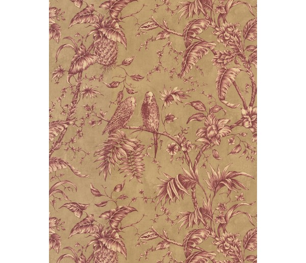 Floral Wallpaper: Madison Florals Wallpaper FD59651