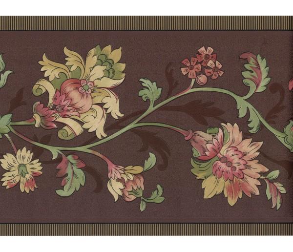 Floral Borders Flower Wallpaper Border FDB01087 Fine Art Decor Ltd.