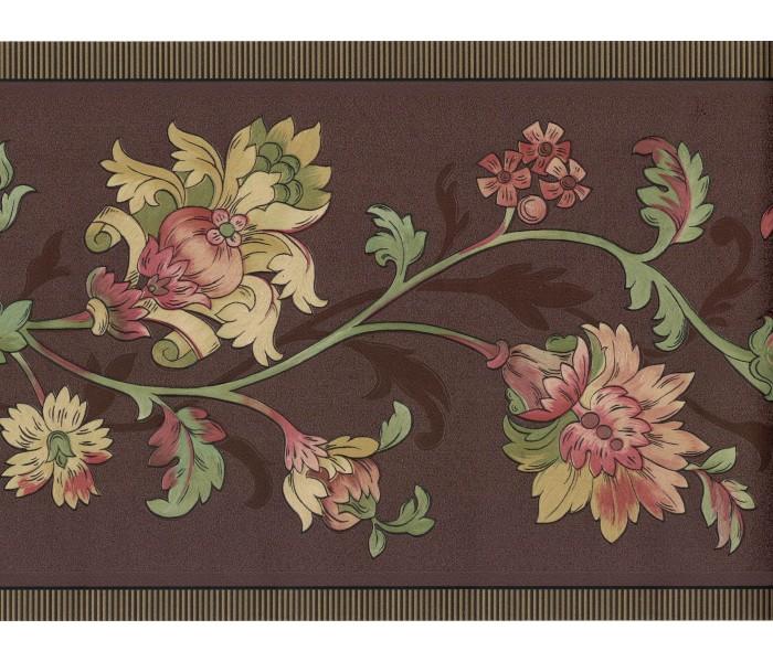 Floral Wallpaper Borders: Flower Wallpaper Border FDB01087
