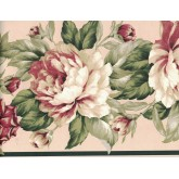 Floral Borders Flower Wallpaper Border FDB03077 Fine Art Decor Ltd.