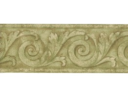 Prepasted Wallpaper Borders - Vintage Wall Paper Border FDB05762