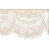 Prepasted Wallpaper Borders - Flower Wall Paper Border FDB06956