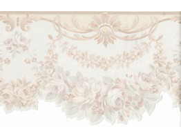 Flower Wallpaper Border FDB06956