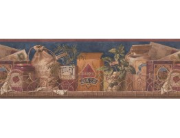 Prepasted Wallpaper Borders - Kitchen Wall Paper Border 10054 FFM