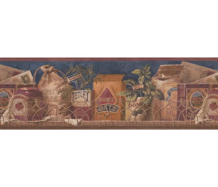 Kitchen Wallpaper Borders: Kitchen Wallpaper Border 10054 FFM
