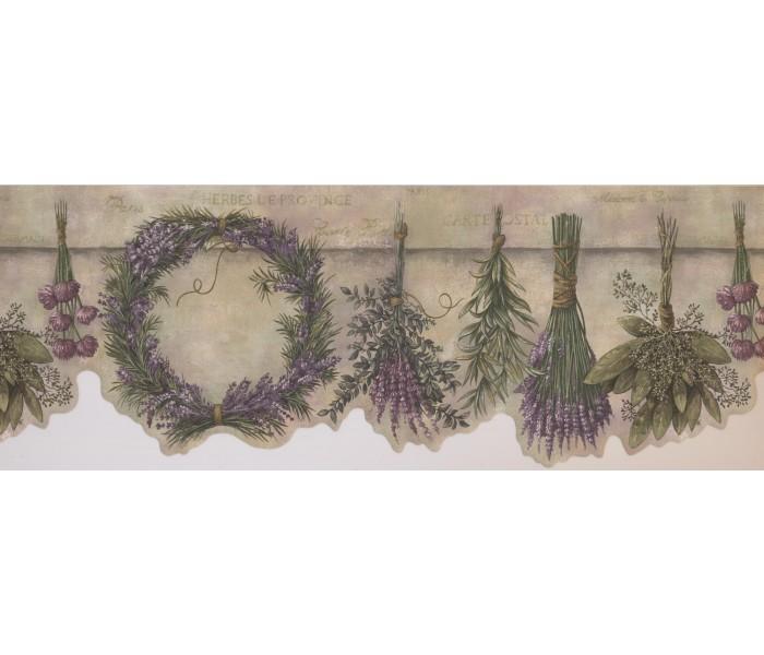 Garden Wallpaper Borders: Garden Wallpaper Border 10081 FFM