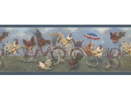 Roosters Wallpaper Border 1009 FFM