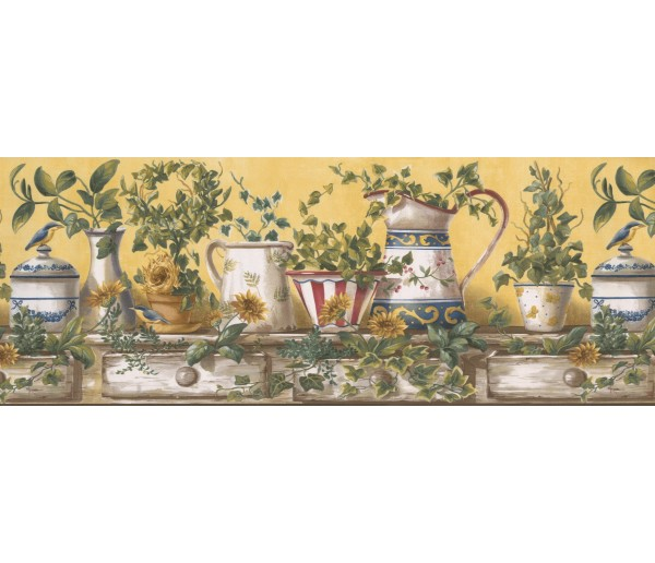Kitchen Wallpaper Borders: Kitchen Wallpaper Border 10151 FFM
