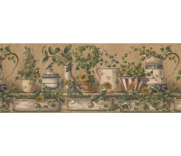 Kitchen Borders Kitchen Wallpaper Border 10153 FFM York Wallcoverings