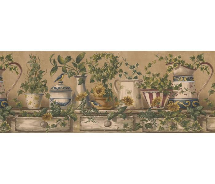Kitchen Wallpaper Borders: Kitchen Wallpaper Border 10153 FFM