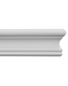 Flex Flat Molding 3-1/2 inch Manufactured with a Dense Architectural Polyurethane Compound.