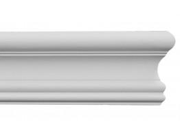 Flat Molding - Plastic Flat Moulding Manufactured with a Dense Architectural Polyurethane Compound. FM-5505 Flex Flat Molding