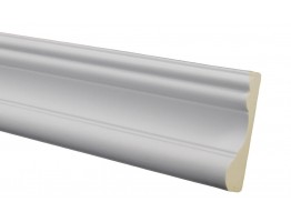 Flat Molding 3-1/2 inch Manufactured with a Dense Architectural Polyurethane Compound.