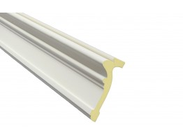 Flat Molding 5 inch Manufactured with a Dense Architectural Polyurethane Compound