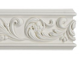 Flat Molding - Plastic Flat Moulding Manufactured with a Dense Architectural Polyurethane Compound. FM-5518 Flat Molding