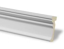 Flat Molding 3-1/2 inch Manufactured with a Dense Architectural Polyurethane Compound