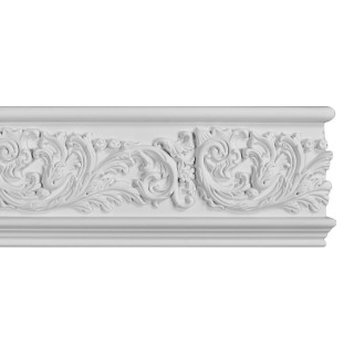 Flat Molding 7 inch Manufactured with Dense Architectural Polyurethane Compound. FM-5551 Flat Molding