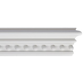 Flat Molding 4 inch Manufactured with Dense Architectural Polyurethane Compound. FM-5557 Flat Molding