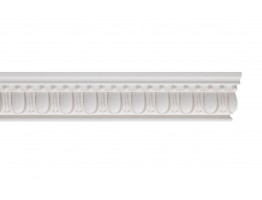 Flat Molding - Plastic Flat Moulding Manufactured with a Dense Architectural Polyurethane Compound. FM-5570 Flat Molding