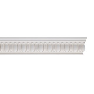 Flat Molding 1-1/2 inch Manufactured with Dense Architectural Polyurethane Compound. FM-5570 Flat Molding