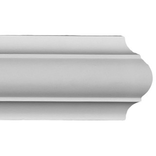 Flat Molding 3 inch Manufactured with Dense Architectural Polyurethane Compound. FM-5655 Flat Molding