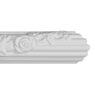 Flat Molding 1-3/4 inch Manufactured with Dense Architectural Polyurethane Compound. FM-5668 Flat Molding