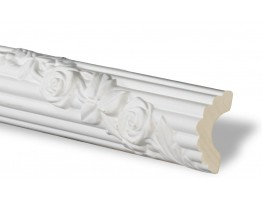 Flat Molding - Plastic Flat Moulding Manufactured with a Dense Architectural Polyurethane Compound. FM-5668 Flat Molding