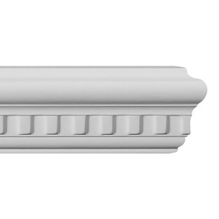 Flat Molding 2-1/2 inch Manufactured with Dense Architectural Polyurethane Compound. FM-5681 Flat Molding