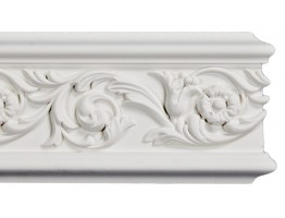 Flat Molding - Plastic Flat Moulding Manufactured with a Dense Architectural Polyurethane Compound. FM-5707 Flat Molding