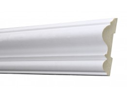 Flat Molding 3-1/8 inch Manufactured with Dense Architectural Polyurethane Compound. FM-5720 Flat Molding