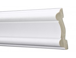 Flat Molding 3-1/8 inch Manufactured with Dense Architectural Polyurethane Compound. FM-5726 Flat Molding