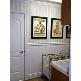 Casing and Chair Rail FM-5726 Flat Molding Brewster Wallcoverings
