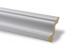 Flat Molding - Plastic Flat Moulding Manufactured with a Dense Architectural Polyurethane Compound. FM-7000 Flat Molding