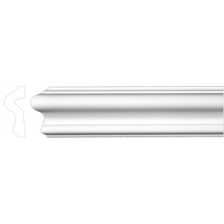 Flat Molding 2-3/8 inch Manufactured with Dense Architectural Polyurethane Compound. FM-7013 Flat Molding