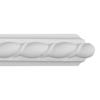 Flat Molding 1 inch Manufactured with Dense Architectural Polyurethane Compound. FM-7124 Flat Molding
