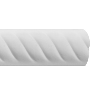 Flat Molding 1 inch Manufactured with Dense Architectural Polyurethane Compound. FM-7130 Flat Molding