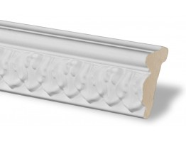 Flat Molding 2 inch Manufactured with Dense Architectural Polyurethane Compound. FM-7176 Flat Molding