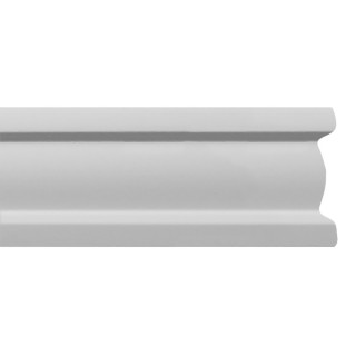 Flat Molding 1 inch Manufactured with Dense Architectural Polyurethane Compound. FM-7182 Flat Molding