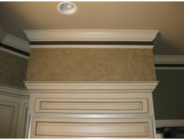 Flat Molding - Plastic Flat Moulding Manufactured with a Dense Architectural Polyurethane Compound. FM-7202 Flat Molding