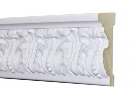 Flat Molding 3-1/2 inch Manufactured with Dense Architectural Polyurethane Compound. FM-7215 Flat Molding