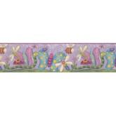 Prepasted Wallpaper Borders - Kids Wall Paper Border 10041 FS