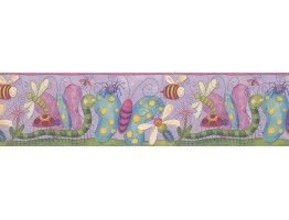 Prepasted Wallpaper Borders - Kids Wall Paper Border 10041 FS