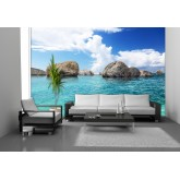 Murals Wall Mural - Wallpaper Mural for Accent Wall Non-woven FTN 2452