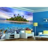 Wall Mural - Wallpaper Mural for Accent Wall Non-woven FTN XXL 2406