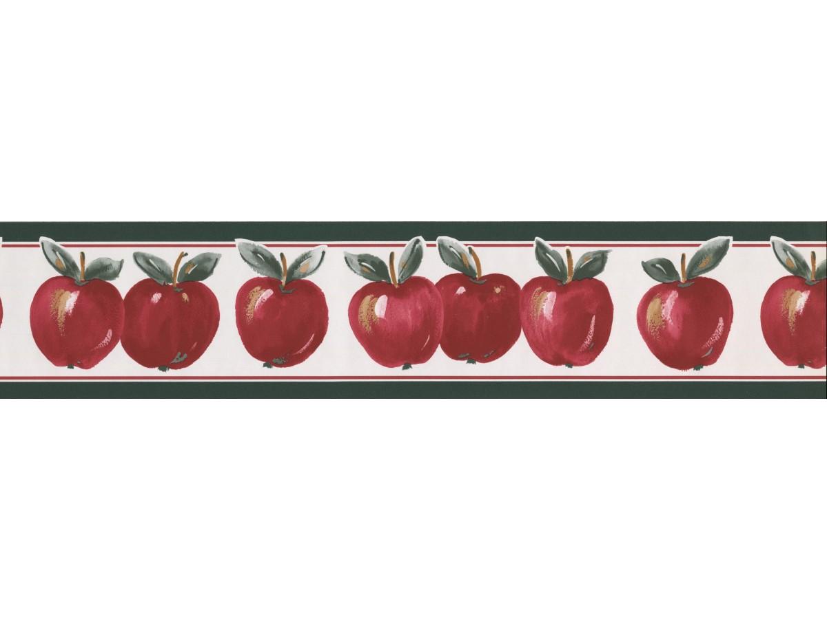 Apple Wallpaper Border 70186 Ga
