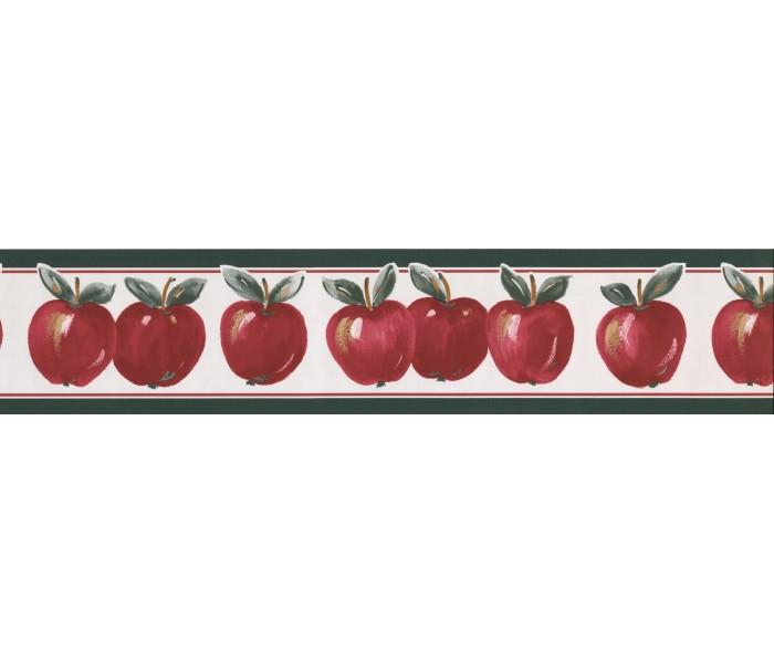 Garden Wallpaper Borders: Apple Wallpaper Border 70186 GA