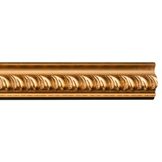 Flat Molding 4-3/8 inch Manufactured with Dense Architectural Polyurethane Compound. GF-20 Flat Molding