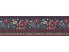 Floral Wallpaper Border GG101801