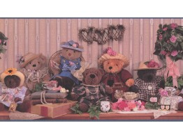 Teddy Bears Wallpaper Border GL4202
