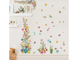 Floral Wall Decals H0198